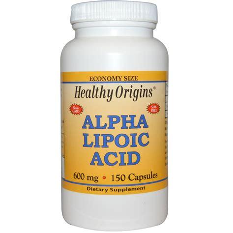 alpha g supplement healthy origins alpha lipoic acid 600 mg 150 capsules