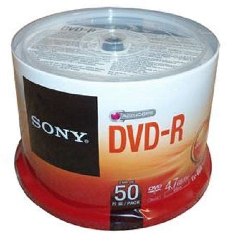 Dvd R Sony Bulk Pack 50 Pcs sony dvd r 50 4 7 gb spindle 50 pcs price review and buy