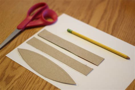 Paper Canoe Craft - toddler approved olympic simple cardboard canoe craft