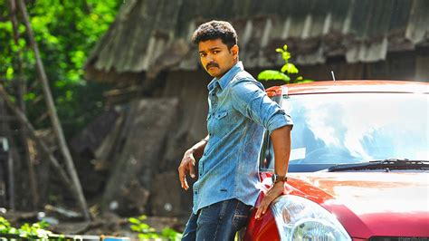 vijay hd wallpaper desktop superstar vijay in theri hd wallpaper download