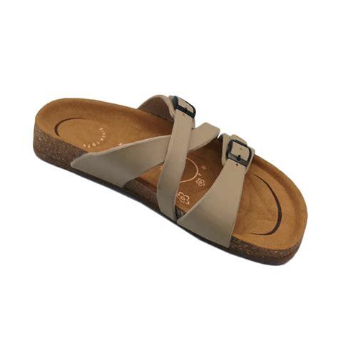 Daftar Sepatu Sandal Carvil Jual Carvil Footbed Khanza Sandal Wanita 07 Beige Harga Kualitas Terjamin Blibli