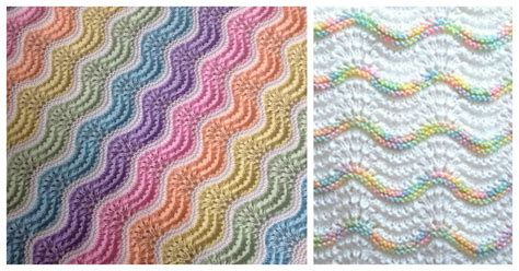 feather and fan knitting pattern feather and fan rainbow baby blanket free knitting pattern