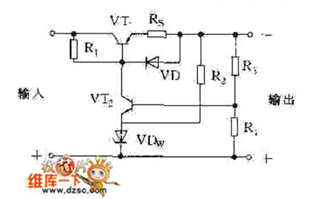 current limiting circuit using diode the current limiting protection circuit diagram adopted diode control circuit circuit