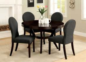 Round Dining Room Sets For 4 by Round Dining Table Set For 4 Homesfeed
