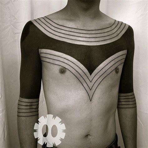 tribal tattoos on shoulder and chest shoulder and chest tribal blackwork