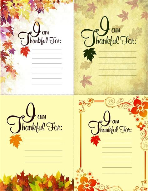 printable greeting cards for thanksgiving printable thanksgiving place setting cards american