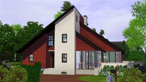 houses in mod the sims 90 s contemporary house