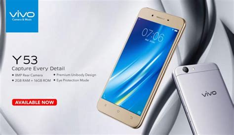 Lcd Vivo Y53 vivo y53 with 5 inch display launched price