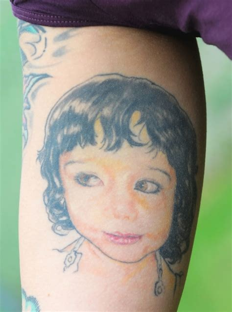 edmonton journal tattoo tattoos offer parents permanent tributes to their children