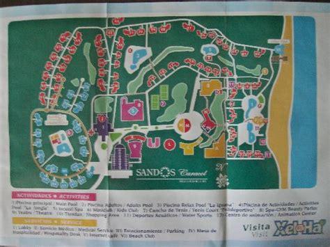 eco resort map fruit basket picture of sandos caracol eco resort playa