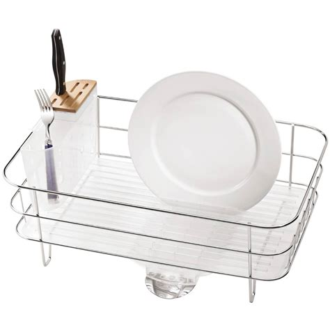 Simple Human Sink Mat by Simplehuman Slim Wire Frame Dishrack Sink Mats Drains