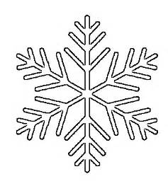 snowflake outline template free printable snowflake templates large small stencil