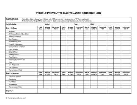 audi maintenance program vehicle preventive maintenance schedule log automotive