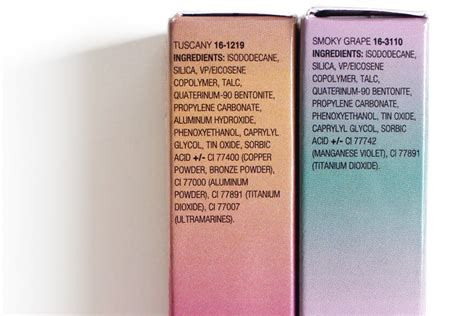 Eyeshadow Formulation thenotice sephora pantone light liquid shadow in