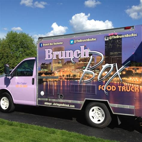 truck rochester ny brunch box rochester food trucks in rochester ny