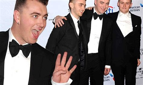 how is sam smith feeling after celebrating his grammy victory sam smith celebrates grammys triumph at universal after