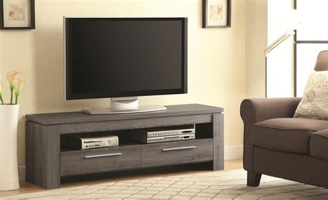 weathered gray console grey wood tv stand steal a sofa furniture outlet los