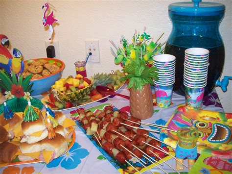 luau party foods luau party birthdays and birthday