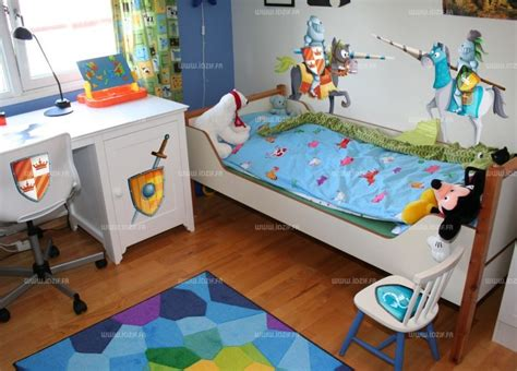 chambre enfant chevalier stickers chevaliers