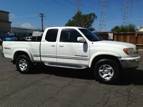 how make cars 2000 toyota tundra on board diagnostic system find used stunning 2000 toyota tundra limited 4wd access cab white window sticker ca car in san