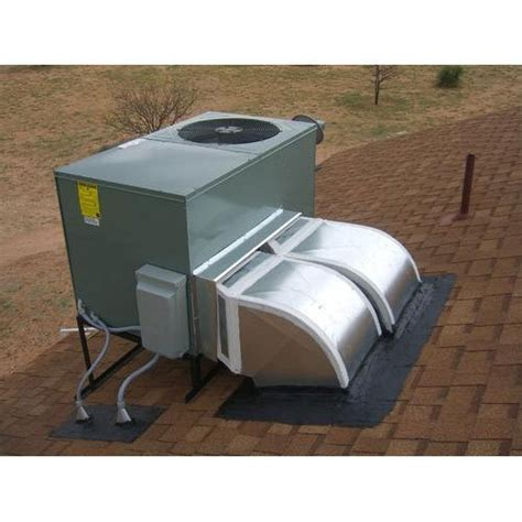 white  star industrial rooftop package ac unit  ton