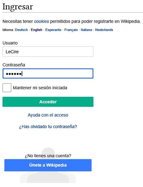 usuario savig la enciclopedia libre contrase 241 a la enciclopedia libre