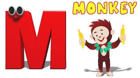 Phonics Letter- M | Alphabet Songs For Children | Phonics ... M