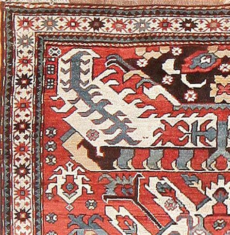 eagles rug antique caucasian eagle kazak rug for sale at 1stdibs