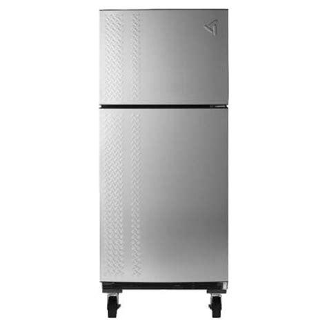 Best Fridge For Garage by Gladiator Chillerator 19 0 Cu Ft Top Freezer Garage