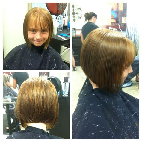 kids angled bob haircut kids summer haircut cute bob short hair don t care my