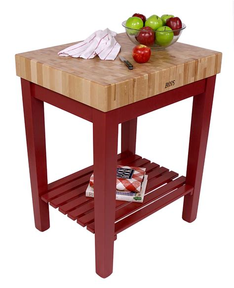 boos chef s block with shelf butcher block