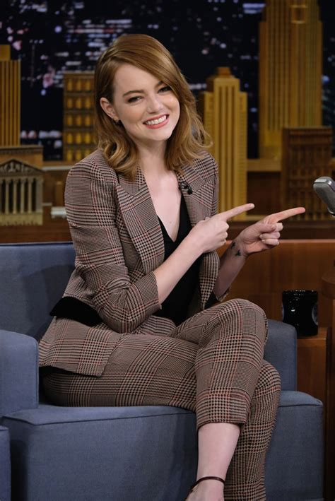 Emma Stone Tv Shows | emma stone nails it style wise on quot the tonight show
