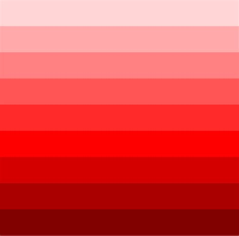 different shades of red what are the different shades of red adorable how many