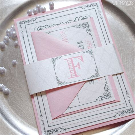 pink and silver wedding invitations blush wedding invitations blush and silver pink wedding