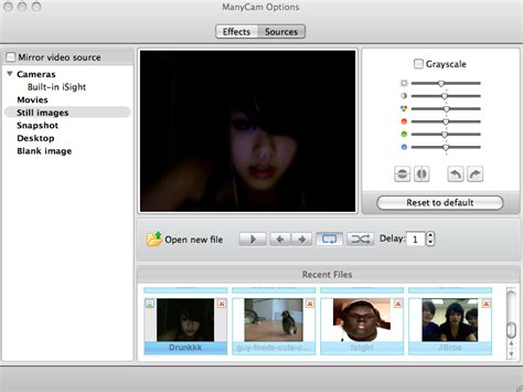 chatroulette web cam fake chatroulette webcam and gifs tut look the