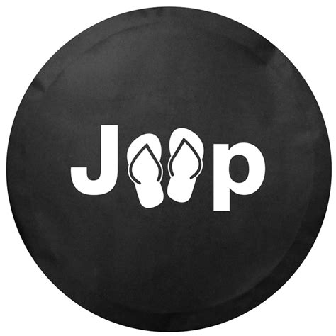 Jeep Tire Covers All Things Jeep Jeep Sandal Logo Tire Cover