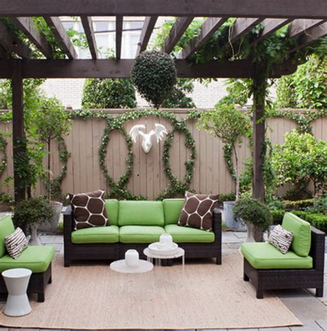 Nice Backyards backyard patio ideas landscaping gardening ideas