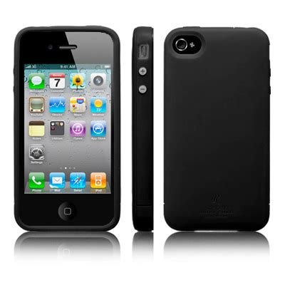 sgp ultra silke r series silicone for iphone 4 4s oem black jakartanotebook