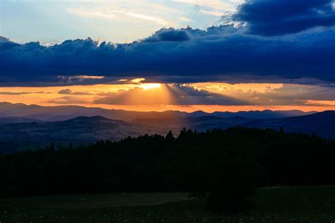 wallpaper auvergne   wallpaper  france sunset
