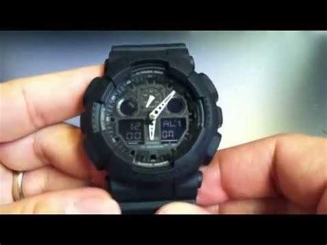 jam tangan g shock ga100 1a1 ga 100 1a1jf videolike