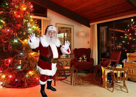Santa Claus In House by Catch Santa In Your House Keepsake Photo Giveaway