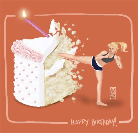 Birthday Workout Meme - happy birthday 175 184 184 180 175 kung fu cake kick