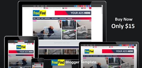 buy responsive beautiful professional blogger templates