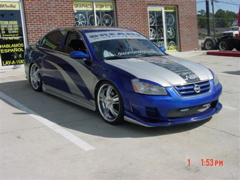 nissan altima 2002 custom cmac0124 2002 nissan altima specs photos modification