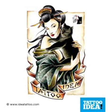 geisha tattoo profilo disegni per tatuaggi ideatattoo