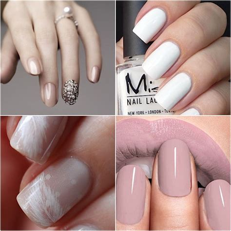 Nails Designs 2016 by Neutral Wedding Nails 2016