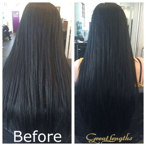fusion hair extensions before and after 20 great lengths hair extensions classic fusion 125