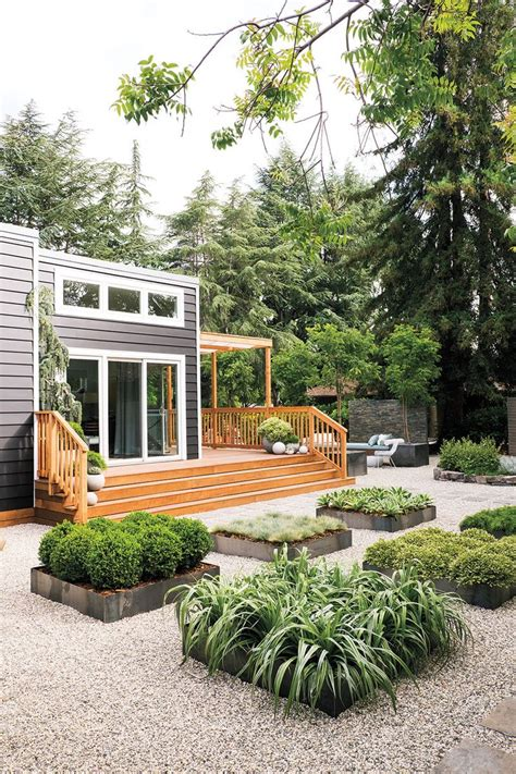 Backyard Bungalow Plans by Best 25 No Grass Landscaping Ideas On No