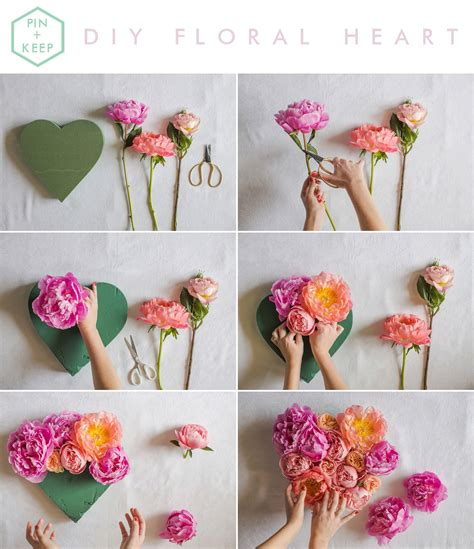 fresh floral heart diy tutorial fresh floral heart diy tutorial