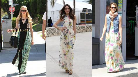 celeb maxi dress 20 prettiest celebrity maxi dresses youtube